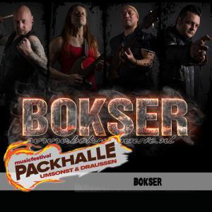 Bokser mit Heavy Rock aus Assen (NL) auf der MAIN STAGE!