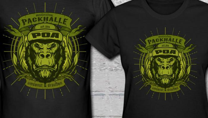 Wir basteln nach wie vor an Shirts für das diesjährige POA ...
