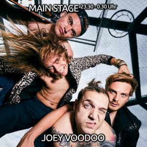 Nächster Halt: Funky Town @ Packhalle Open Air 2018! Joey Voodoo mit funky Crossover zum Abschluss auf der MAIN STAGE am 30.06.2018!