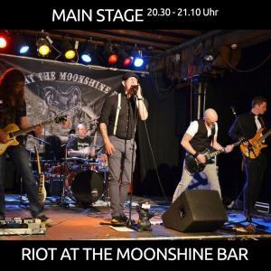 Riot at the Moonshine Bar aus Sögel/Haren werden als lokale Band ab 20.30 Uhr die MAIN STAGE zum Beben bringen!