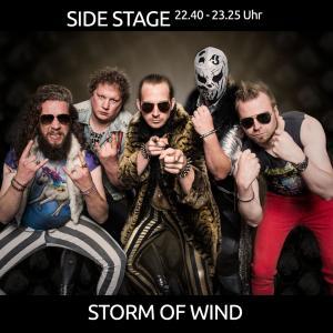 Storm of wind aus Oberlangen sind regional bereits bekannt durch unvergessene Liveauftritte und ihrem True Teutonic True Metal of Eternal Glory!