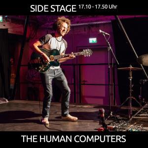 The Human Computers ist ein Ein-Mann-Projekt im Bereich Indie/Rock/Alternative und wird das Programm auf der SIDE STAGE eröffnen!