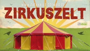 Zirkuszelt ist gesichert und wird beim Festival aufgebaut!