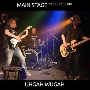 Uhgah Wugah aus Groningen (NL) mit Crossover Punk/Rock/Metal (Trashcore) von 21.50 - 22.35 Uhr auf der MAIN STAGE